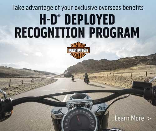 Harley-Davidson Deployed Recognition Program